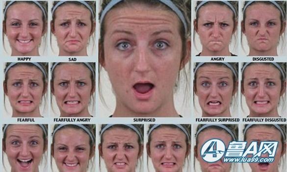 科学家发现 人类有21种不同的面部表情图片