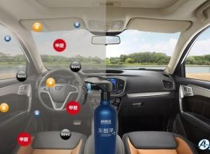新车无甲醛异味困扰,驾乘感舒适至极的秘密 - 负氧离子