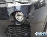 济南宝马X4碳黑色保险杠刮擦补漆,局部补漆