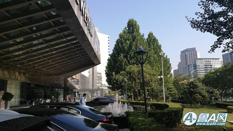 北京金茂威斯汀大饭店实拍,前美国总统奥巴马下榻酒店