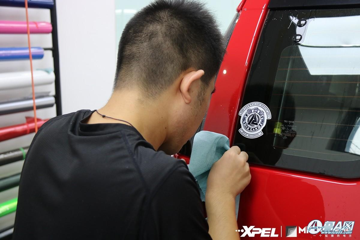 丰田FJ装贴XPEL隐形车衣