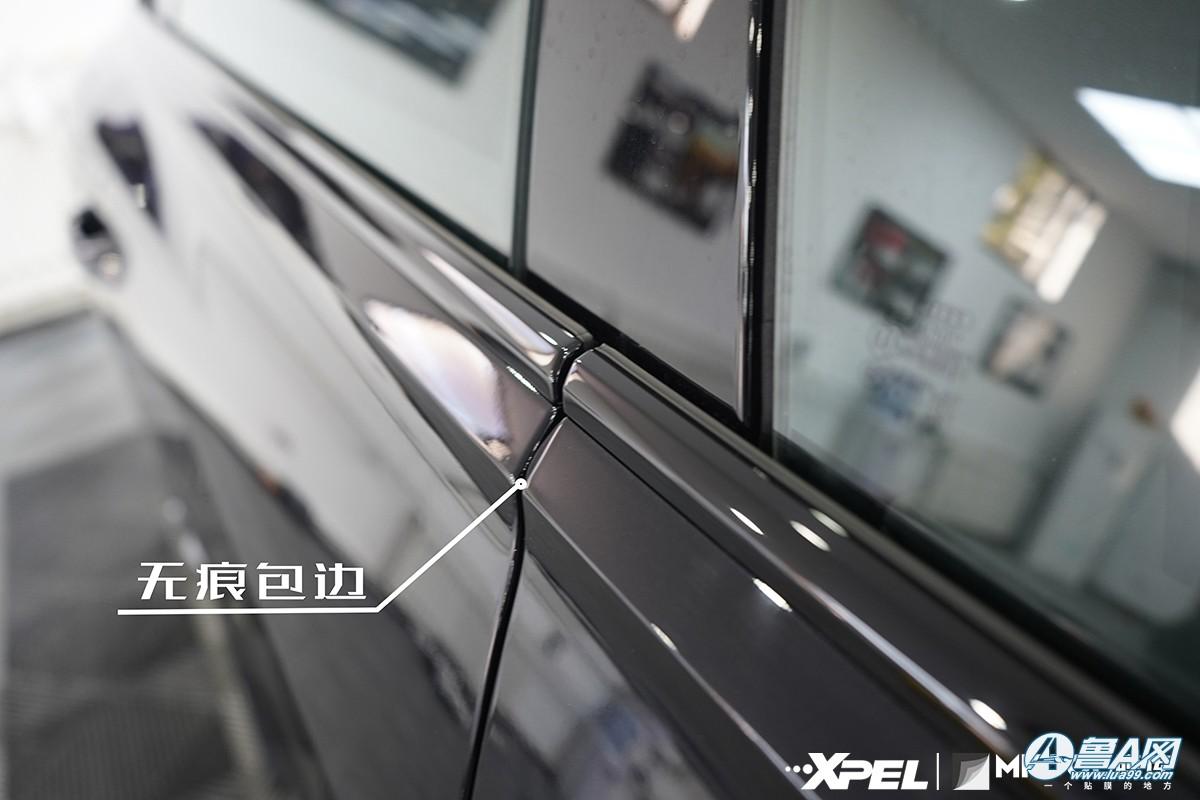 奥迪Q8装贴XPEL隐形车衣
