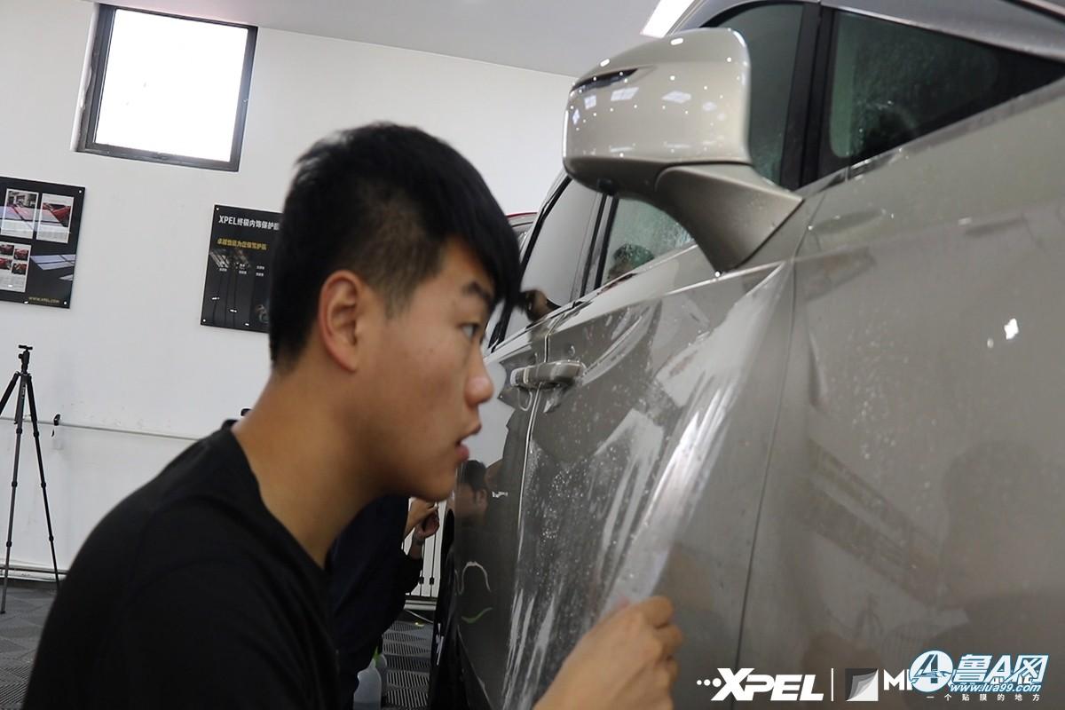 别克GL8装贴XPEL隐形车衣
