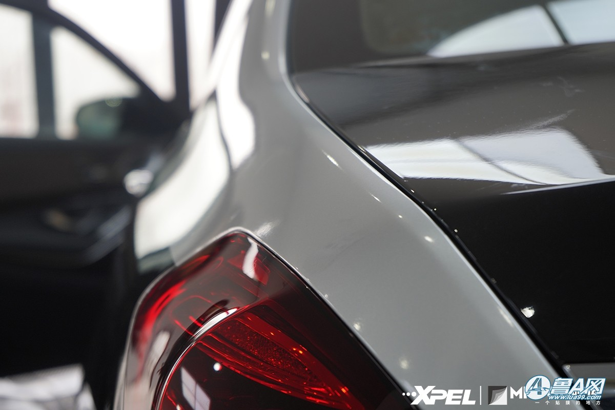 奔驰迈巴赫S450装贴XPEL隐形车衣