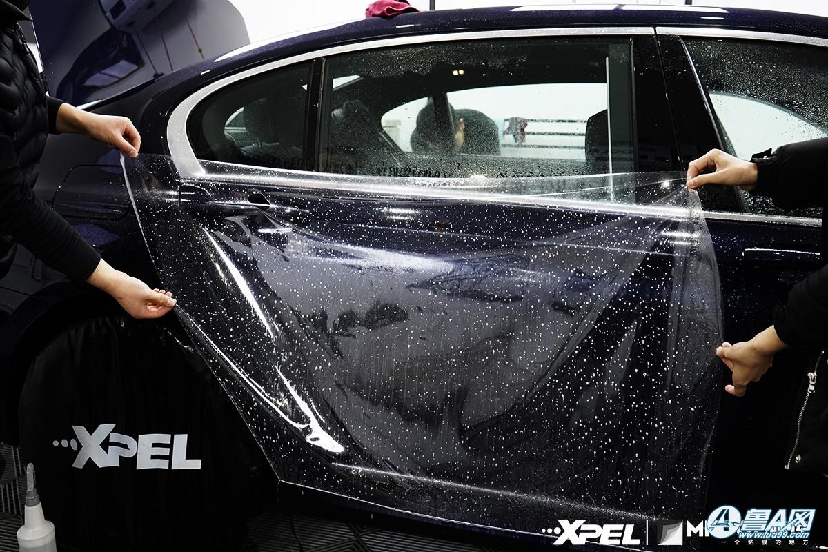 宝马740装贴XPEL隐形车衣