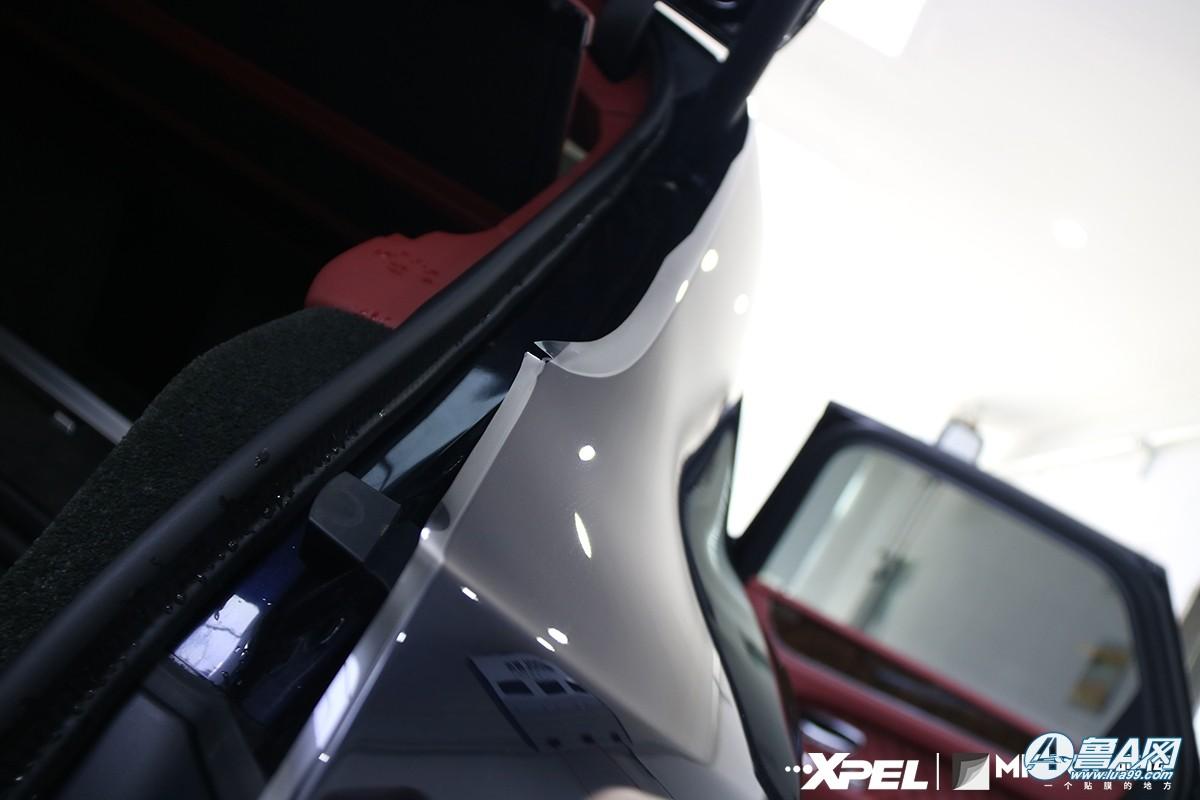 宾利添越装贴XPEL-MPD隐形车衣