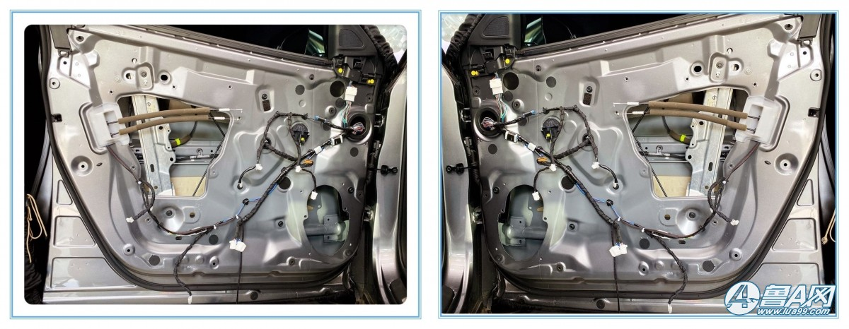 英菲尼迪改装交叉火力CF-M65S两分频套装音响案例