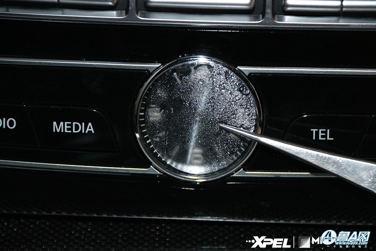 成大事者,细节决定成败!|奔驰 G500 济南膜库装贴xpel车衣!