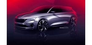 斯柯达发布VISION RS概念车设计图 概念车代表了新一代RS系列及紧凑车型的设计方向 ... ...