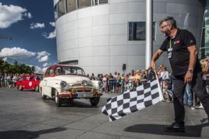 斯柯达携六款车型参加萨克森经典车拉力赛